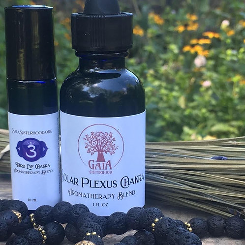 Aromatherapy Blends for each Chakra