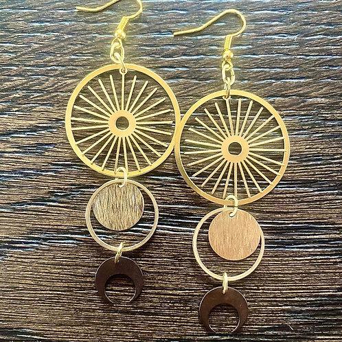 Goddess Rising earrings