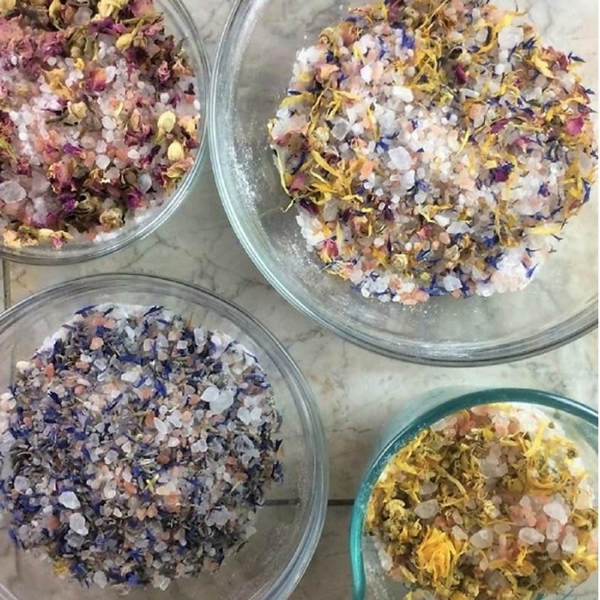 DIY YULE Crafting for the season of Giving: Body Srub & Bath Salt Workshop