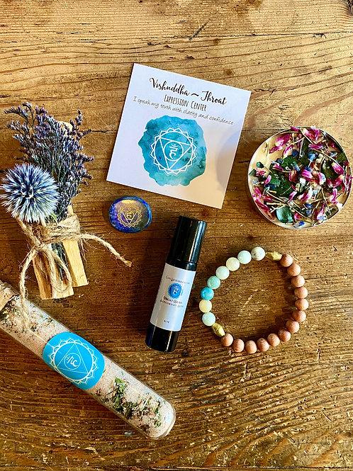 Throat Chakra Ritual Box