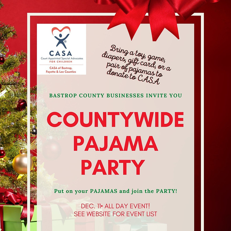 2nd Annual - 2021 Countywide Pajama Party!  - Vendor Registration