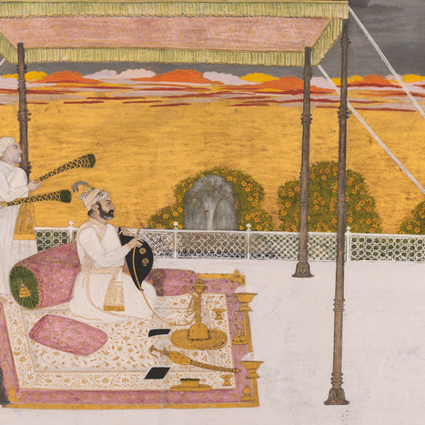 Indian Court Painting