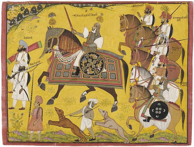 1564 Procession of Bhawani Singh, Sitama