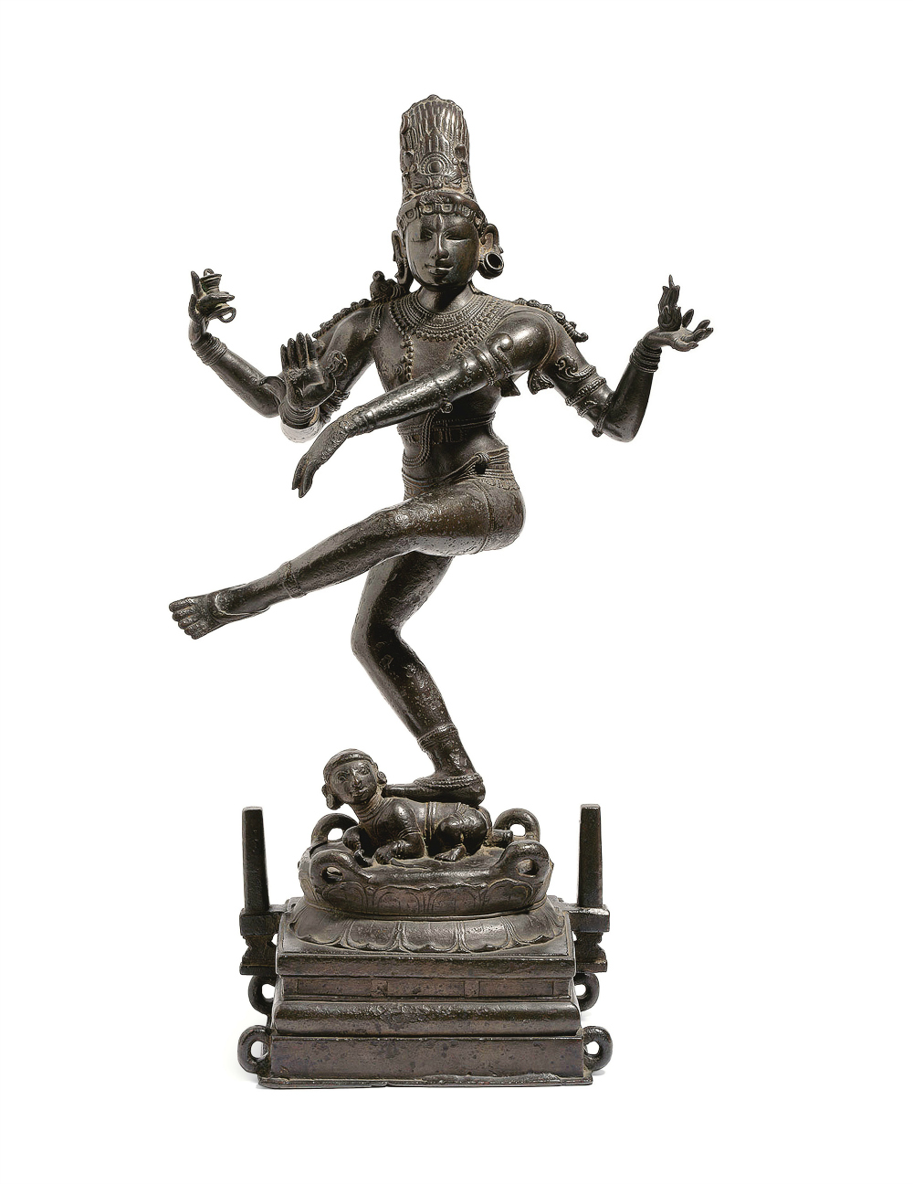 An early Chola Bronze figure of Siva