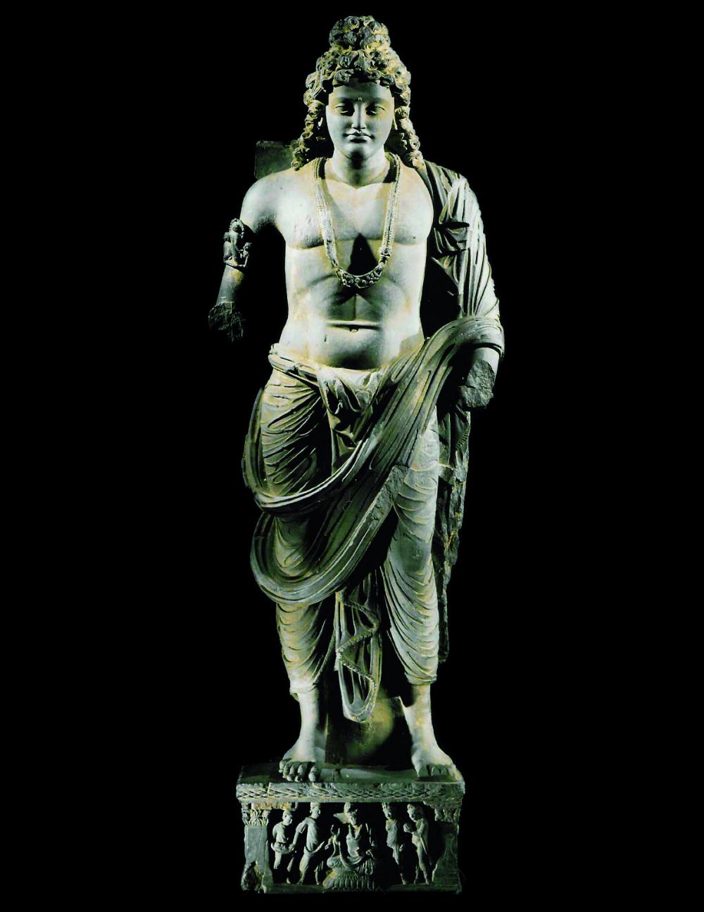 Monumental Figure of a Bodhisattva