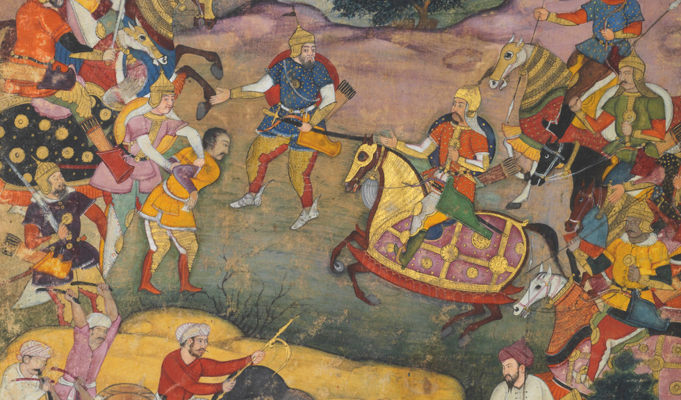 Court Art from India, Persia and Turkey