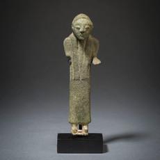 Etruscan Bronze Male Worshipper