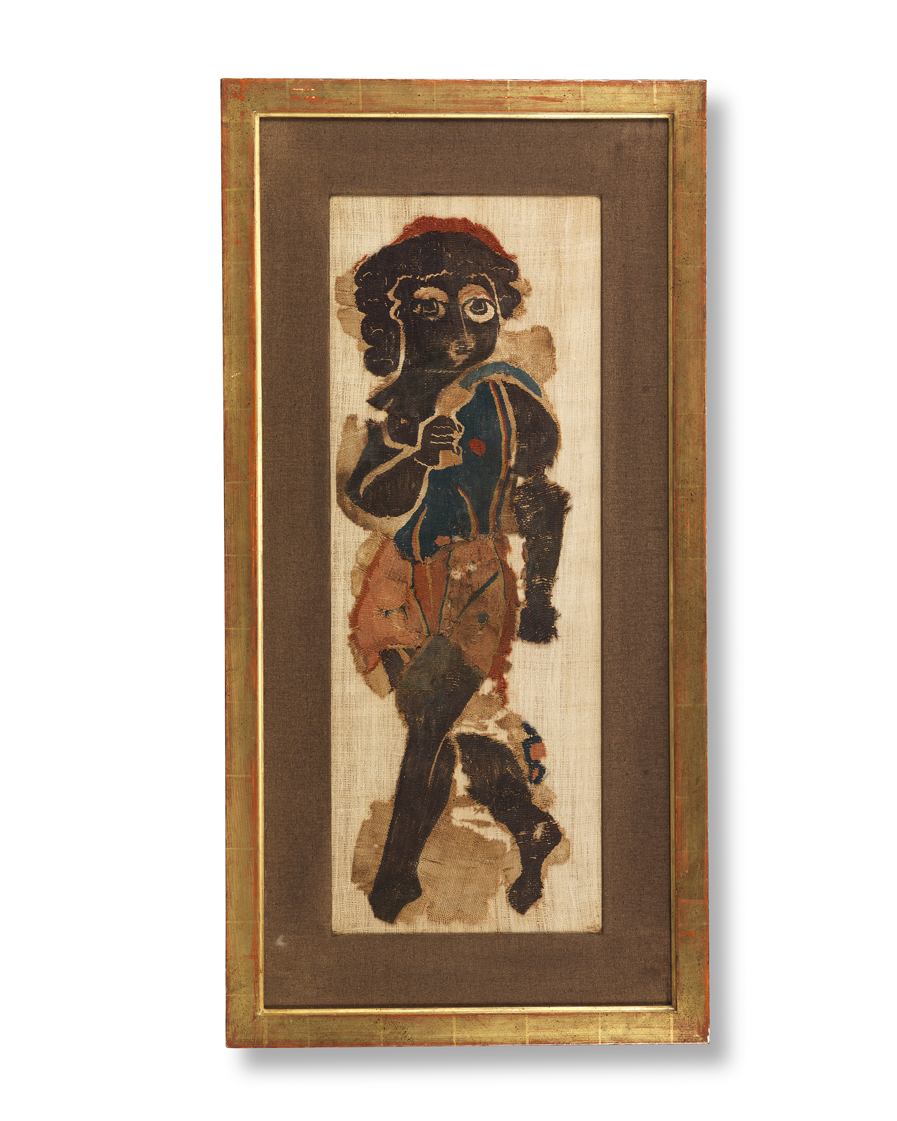 Coptic Textile of a Bacchic Dancer