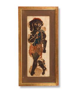 Coptic Textile of a Bacchic Dancer