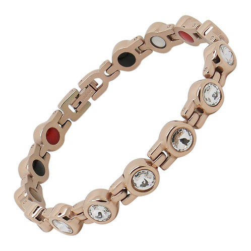 Women's Rose Gold Swarovski Elements Luxury