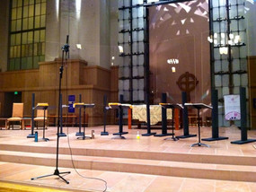 St. Mark's needed an acoustic shell, so we built one.