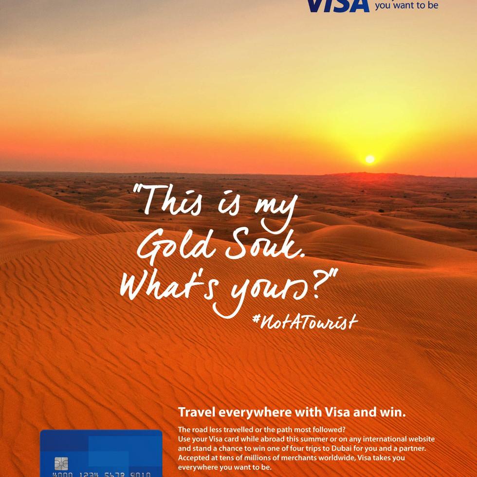 Not a Tourist - Visa