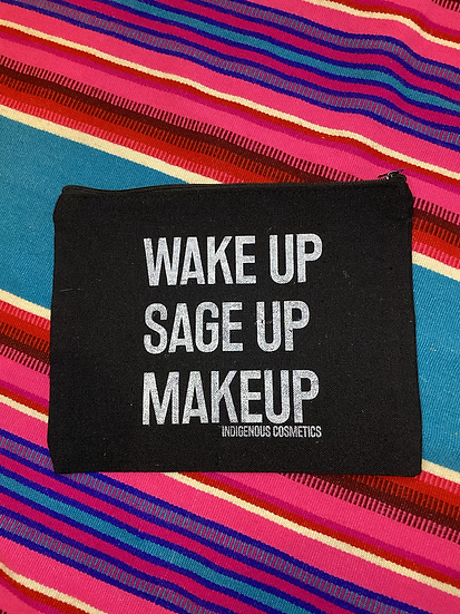 Wake Up Sage Up Makeup makeup bag