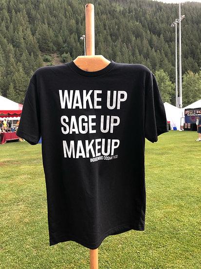 X Large - Wake Up Sage Up Makeup T-shirts