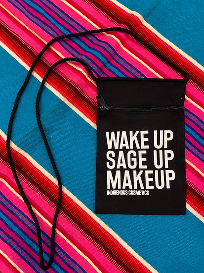 Wake Up Sage Up across the body purse