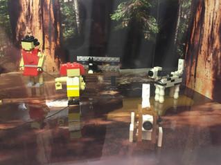 Au Lego store de Dlp