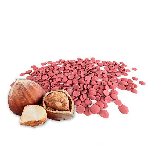 Pâte à tartiner 40% Chocolat Ruby 40% Noisette
