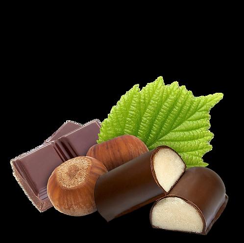Chocolat noir - pâte d'amande