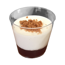 Verrine Panna Cotta et confiture Vin Chaud