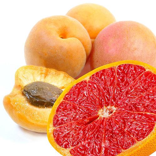 Abricot - Pointe de pamplemousse