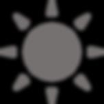 太陽マークの無料アイコン素材 5.png