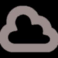 無料でダウンロードできる雲のアイコン素材 3.png