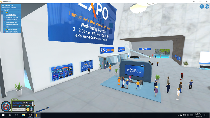 Expo Hall Entrance - eXp Shareholder Summit.png