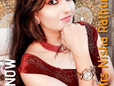 GNF Filmy Hunt 2021 : Contestant No. 51 : Mrs Nisha Rathore | Model & Actor
