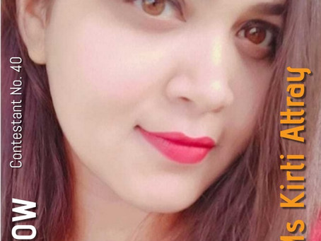 GNF Filmy Hunt 2021 : Contestant No. 40 : Ms Kirti Attray | Model & Actor