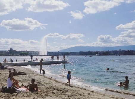 La plage des Eaux-Vives a été ouverte!