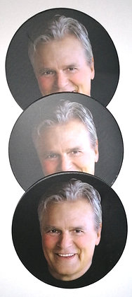"Set de 3 dessous de verre ""Richard Dean Anderson"""