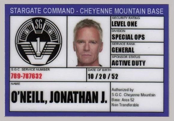 Carte d'identité Jack O'Neill