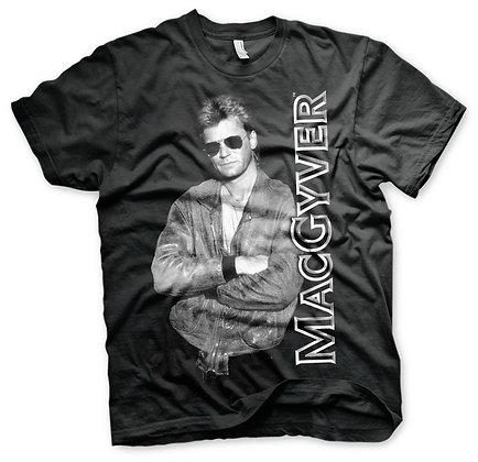 T-shirt Cool MacGyver