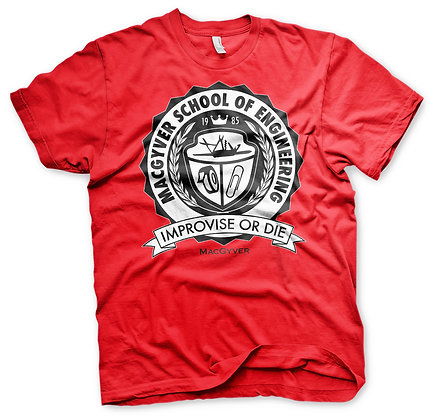 T-shirt MacGyver School Of engineering