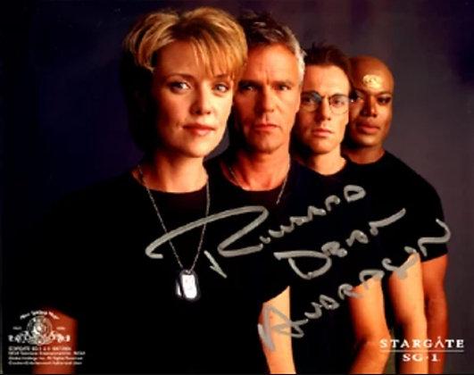 Photo Stargate SG-1 dédicacée