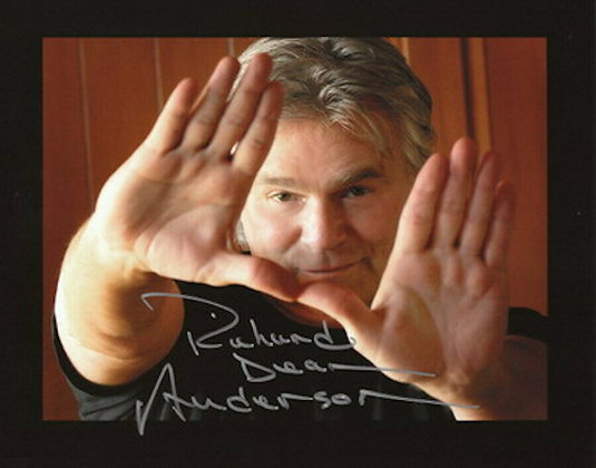 Photo Richard Dean Anderson dédicacée