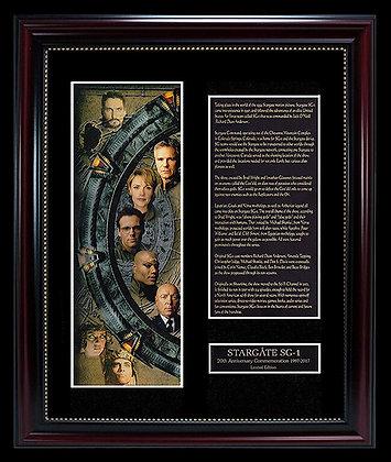Tableau encadré (20ème anniversaire de la Porte des étoiles)