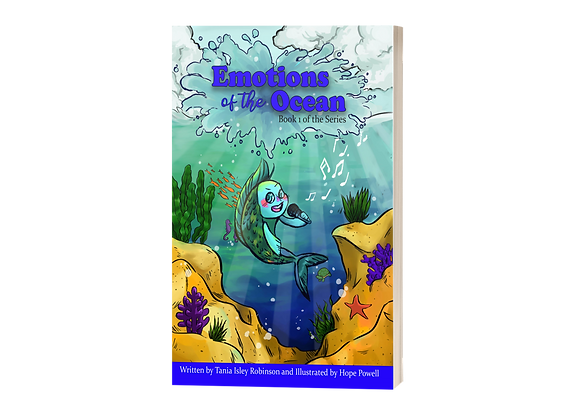"""""""Emotions of The Ocean"""" by Tania Isley-Robinson"""