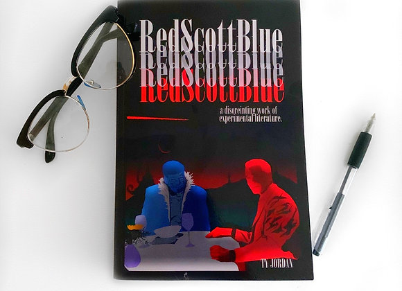 """Red Scott Blue"" by Ty Jordan"