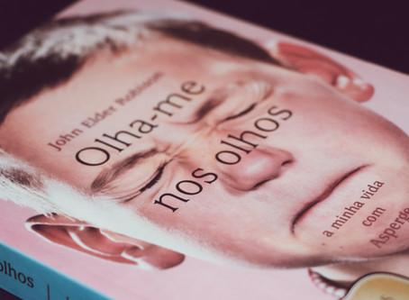 Livro 'Olha-me nos Olhos'