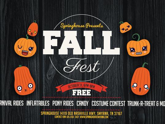 Fall Fest - October 31