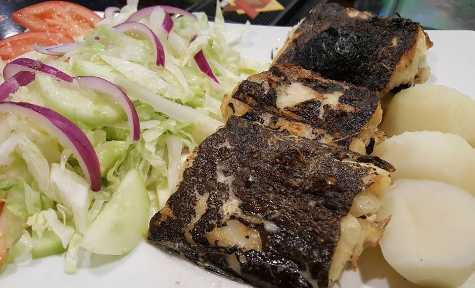 Bacalhau grelhado