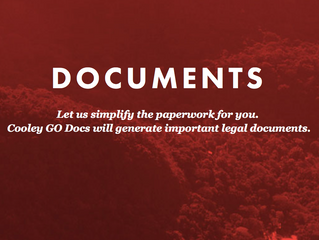 The law firm Cooley is updating its packet of startup tips and financing documents