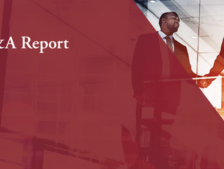 Global M&A Activity Report