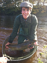 fly fishing in yorkshire, salmon and trout fishing