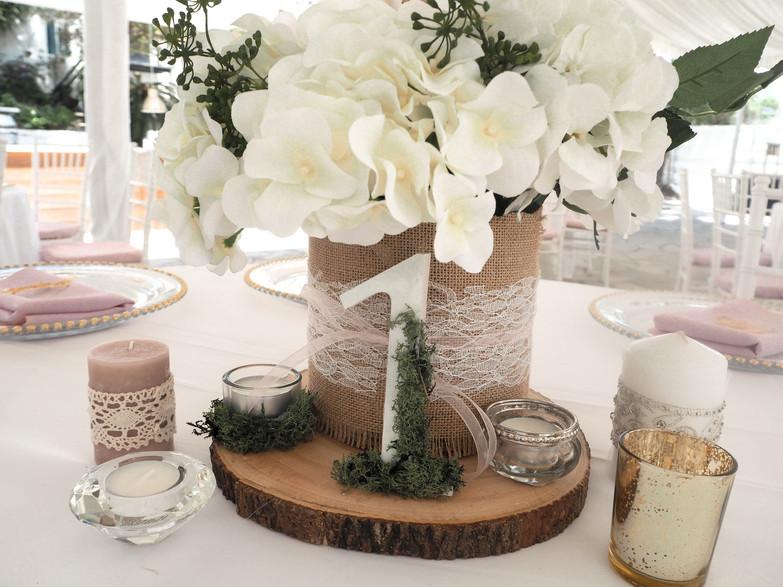 My Wedding set up