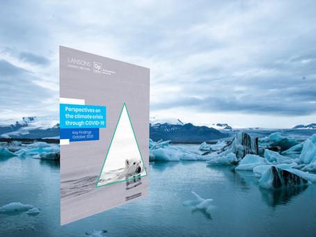 The Climate Crisis and COVID-19: New research into attitudes