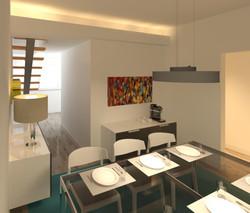 Piso 2, sala de jantar