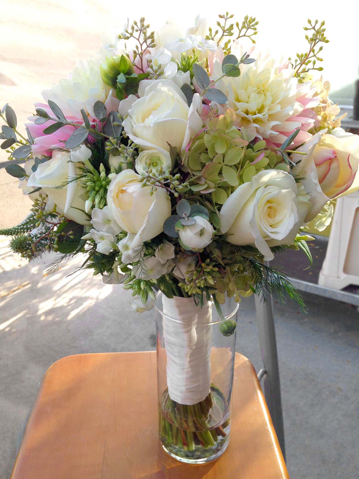 Blush pink bridal bouquet #2
