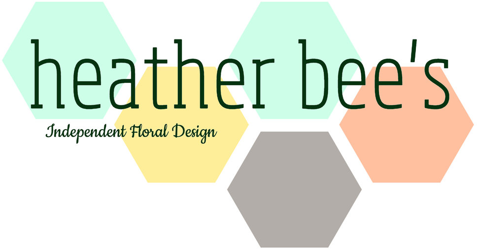 heather bees logo Serving Portlnd Oregon Flowers